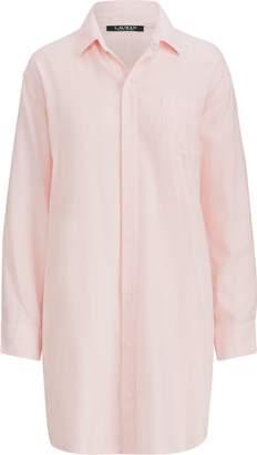 Ralph Lauren Stripe Sateen Sleep Shirt