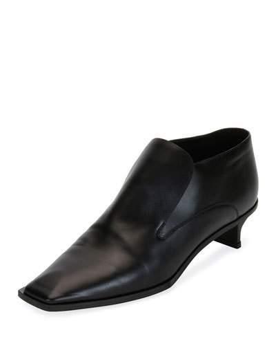 Stella McCartney Flat Heeled Slip-On Loafer, Black