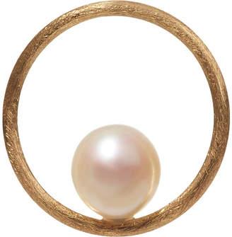 Annoushka Hoopla pearl 18ct yellow-gold pendant