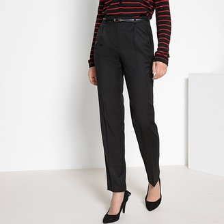 Anne Weyburn Wool Trousers, Length 29.5""