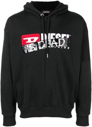Diesel (ディーゼル) - Diesel 'Is dead' printed hoodie