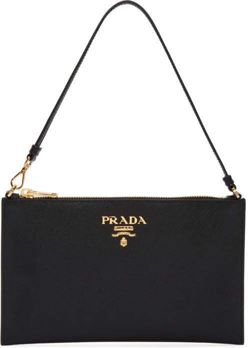 Prada Black Pouch Bag