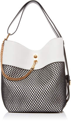 Givenchy Leather And Mesh Tote