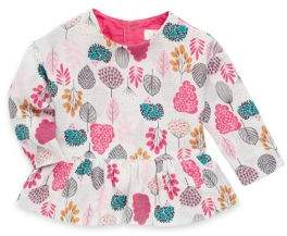 Catimini Baby Girl's Cotton Allover Printed Top
