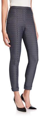 Elie Tahari Marcia Printed Ankle Cuffed Pants