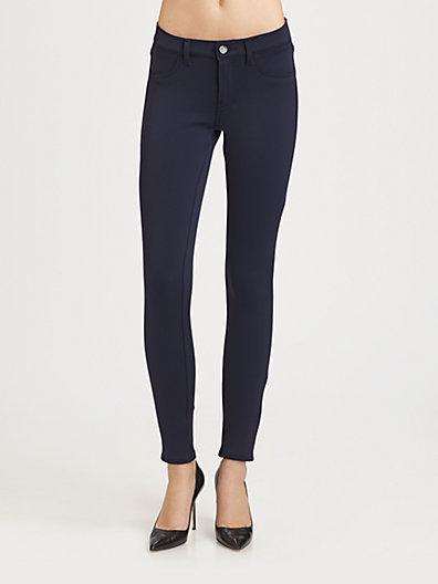 J Brand Scuba Mid-Rise Skinny Pants
