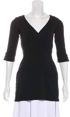 Diane von Furstenberg Long Sleeve Flared Tunic
