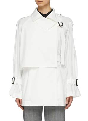 The Keiji Buckled panel trench jacket