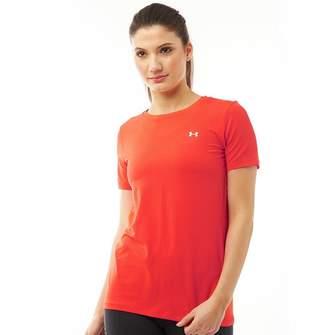 Under Armour Womens HG HeatGear Armour Top Red