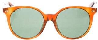 Gucci Round Tortoiseshell Sunglasses w/ Tags