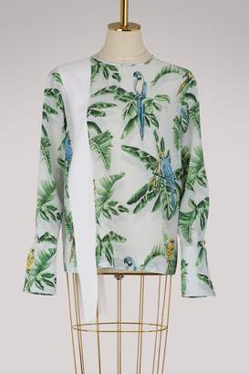 Stella McCartney Clare silk top