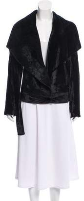 CNC Costume National Short Velvet Jacket