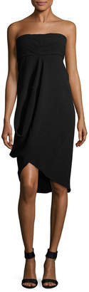 Zero Maria Cornejo Cut-Out Drape Dress
