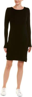Three Dots Ribbed Sheath Dress