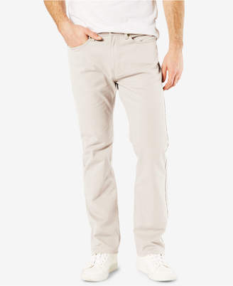 Dockers Men Jean Cut Straight Fit Khaki Stretch Pants