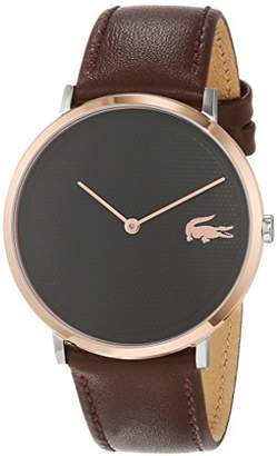 Lacoste Unisex-Adult Analogue Classic Quartz Watch with Leather Strap 2010952