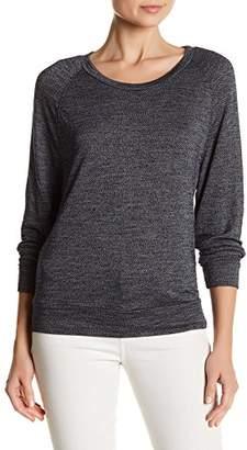 Stateside Long Sleeve Scoop Neck Tee Shirt For Women In