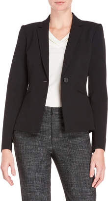 Tahari by Arthur S. Levine Petite Single Button Blazer