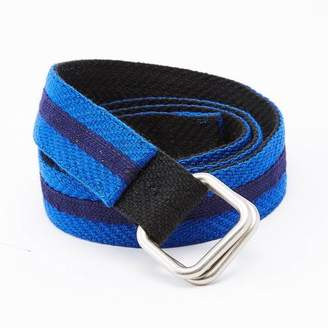 Blade + Blue Black & Blue Stripe Belt by One Magnificent Beast