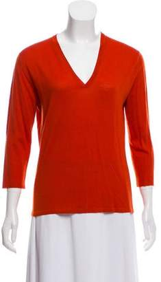 TSE Long Sleeve Wool Top