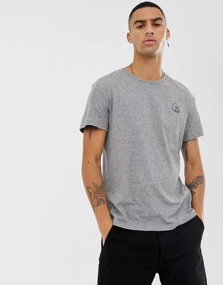 Cheap Monday small logo t-shirt in gray