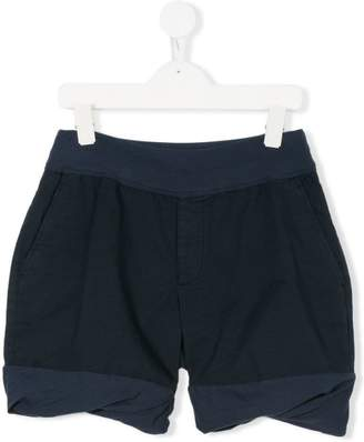European Culture Kids stretched detailed shorts