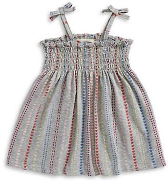 First Impressions Little Girl's Geometric-Print Cotton Dress
