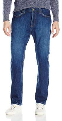 Agave Men's Waterman Relaxed Straight 5 Pocket Zip Fly Jeans in Medium