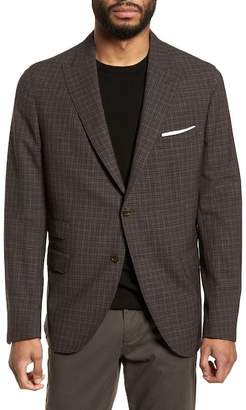 Eleventy Mini-Check Trim Fit Sportcoat