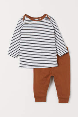 H&M Top and trousers
