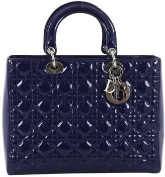Christian Dior Lady patent leather handbag