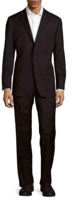 Hickey Freeman Classic-Fit Milburn Wool Suit