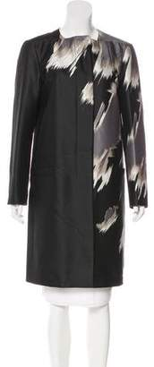Gucci Wool & Silk-Blend Knee-Length Coat