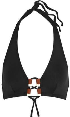 Eres Carine Halterneck Bikini Top - Black