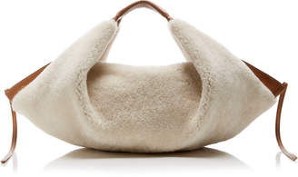 3.1 Phillip Lim Luna Mini Shearling Hobo Bag