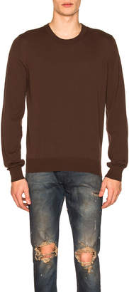 Maison Margiela Elbow Patches Sweater