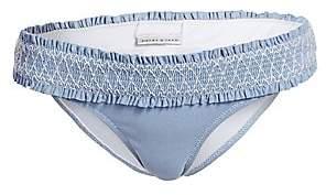 Heidi Klein Women's Smocked Hipster Bikini Bottom