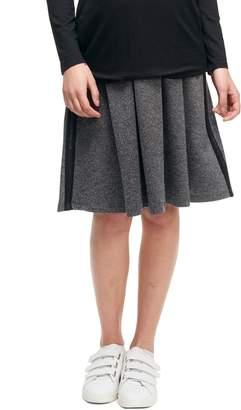 Maternal America A-Line Maternity Skirt