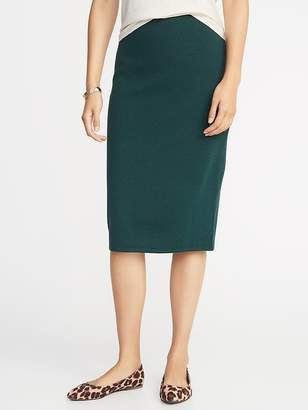 Old Navy Midi Sweater-Knit Pencil Skirt for Women