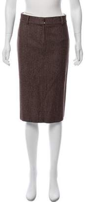 Philosophy di Alberta Ferretti Knit Knee-Length Skirt