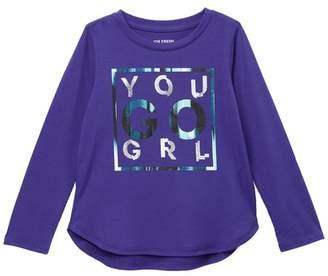 Joe Fresh Long Sleeve Top (Toddler & Little Girls)