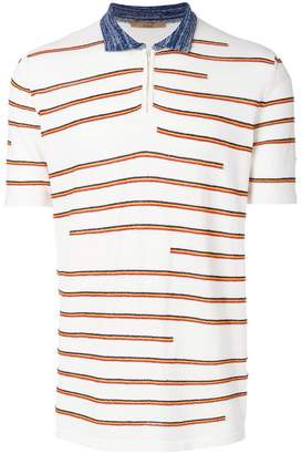 Nuur striped polo shirt