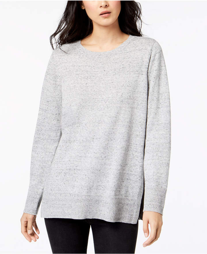 Maison Jules Cotton Crew-Neck Sweater, Created for Macy's