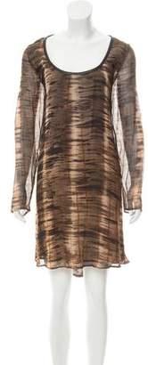 Nicholas K Printed Mini Dress