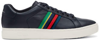Paul Smith Navy Lapin Multistripe Sneakers