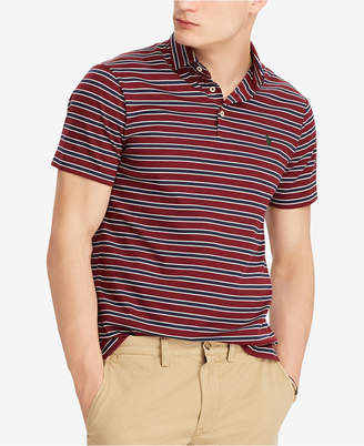 Polo Ralph Lauren Men's Striped Soft Touch Cotton Big & Tall Classic Fit Polo