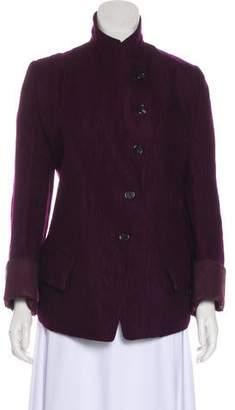 Ann Demeulemeester Virgin Wool Casual Jacket