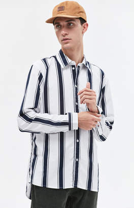 Tommy Jeans Bold Stripe Long Sleeve Button Up Shirt