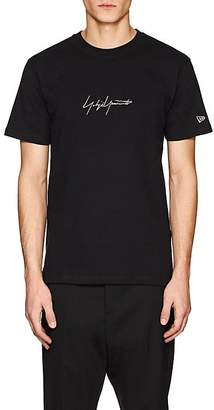 Yohji Yamamoto Men's Logo-Embroidered Cotton T-Shirt