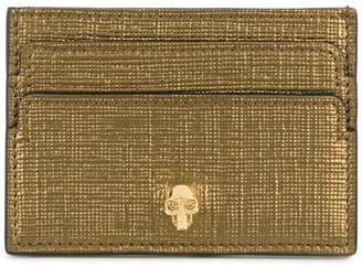 Alexander McQueen skull cardholder